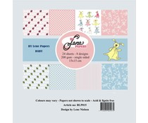 By Lene Baby 6x6 Inch Paper Pack (BLP015)