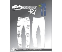 By Lene Jeans Cutting & Embossing Dies (BLD1332)