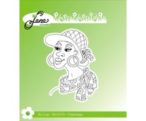 By Lene Lady-2 Clear Stamps (BLS1159)