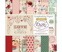DayKa Trade Love Makes Us Fly 8x8 Inch Paper Pack (SCP-1034)