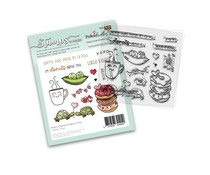Polkadoodles Donuts About You Clear Stamps (PD8117)