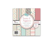 Polkadoodles Hearts & Happiness 6x6 Inch Paper Pack (PD8119)