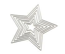 We R Memory Keepers Star Revolution Nested Dies (7pcs) (661186)