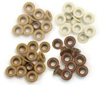 We R Memory Keepers Brown Crop-A-Dile Standard Eyeler (60pcs) (41581-7)