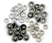 We R Memory Keepers Cool Metal Crop-A-Dile Standard Eyelet (60pcs) (41584-8)