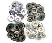 We R Memory Keepers Cool Metal Crop-A-Dile Wide Eyelet (40pcs) (41596-1)