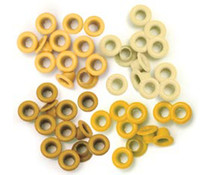 We R Memory Keepers Yellow Crop-A-Dile Standard Eyelet (60pcs) (41575-6)