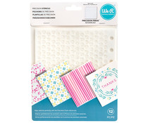 We R Memory Keepers Precision Stencils (12pcs) (660597)