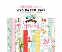 Echo Park Welcome Spring 6x6 Inch Paper Pad (WES235023)