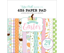Echo Park Welcome Easter 6x6 Inch Paper Pad (WEE236023)