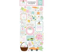 Echo Park Welcome Easter 6x13 Inch Chipboard Accents (WEE236021)