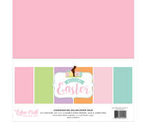 Echo Park Welcome Easter 12x12 Inch Coordinating Solids Paper Pack (WEE236015)