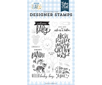 Echo Park Welcome Baby Clear Stamps (WBB234045)