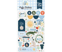 Echo Park Welcome Baby Boy Puffy Stickers (WBB234066)