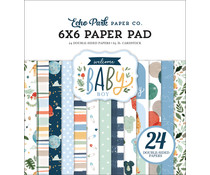 Echo Park Welcome Baby Boy 6x6 Inch Paper Pad (WBB234023)