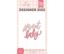 Echo Park Sweet Baby Word Designer Dies (WBG233043)