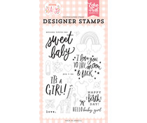 Echo Park Welcome Little One Clear Stamps (WBG233045)