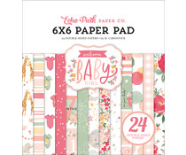 Echo Park Welcome Baby Girl 6x6 Inch Paper Pad (WBG233023)