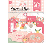 Echo Park Welcome Baby Girl Frames & Tags (WBG233025)