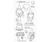 My Favorite Things You Gnome Me Clear Stamps (BB-=119)
