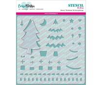 CarlijnDesign Stencil Kerstboom (CDSC-0006)