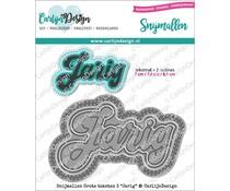 CarlijnDesign Snijmallen Grote Teksten 3 Jarig (CDSN-0072)