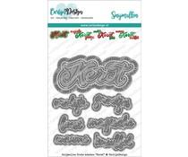CarlijnDesign Snijmallen Grote Teksten Kerst (CDSN-0078)