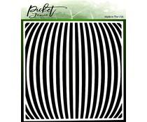 Picket Fence Studios Movement 6x6 Inch Stencils (SC-230)