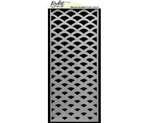 Picket Fence Studios Slim Line Gradient 4x10 Inch Stencils (SC-240)