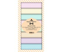 Paper Favourites Pastel Stribes Slim Paper Pack (PFS003)