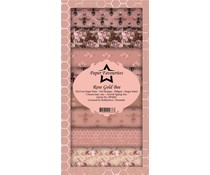 Paper Favourites Rose Gold Bee Slim Paper Pack (PFS002)