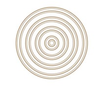 Spellbinders Essential Duo Lines Circles Glimmer Hot Foil Plate (GLP-255)