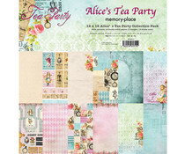 Memory Place Alice's Tea Party 12x12 Inch Paper Pack (MP-60315)