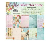 Memory Place Alice's Tea Party 6x6 Inch Paper Pack (MP-60313)