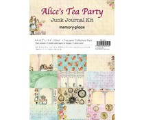 Memory Place Alice's Tea Party A4 Paper Pack (MP-60316)
