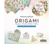 Memory Place Alice's Tea Party Origami (MP-60326)