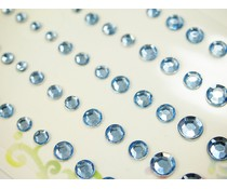 Memory Place Light Blue Rhinestone (MP-59130)