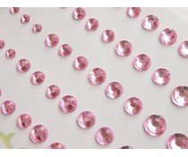 Memory Place Light Pink Rhinestone (MP-59129)