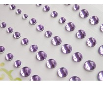 Memory Place Light Purple Sparkly Bubble Rhinestone (MP-59016)