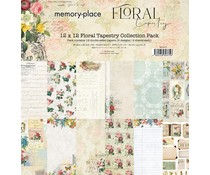 Memory Place Floral Tapestry 12x12 Inch Paper Pack (MP-60375)