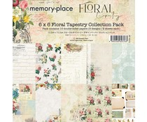 Memory Place Floral Tapestry 6x6 Inch Paper Pack (MP-60376)