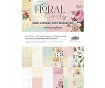 Memory Place Floral Tapestry A4 Paper Pack (MP-60383)