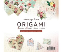 Memory Place Floral Tapestry Origami (MP-60411)