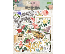 Memory Place Floral Tapestry Ephemera (MP-60384)