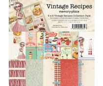 Memory Place Vintage Recipes 6x6 Inch Paper Pack (MP-60283)