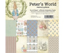 Memory Place Peter's World 6x6 Inch Paper Pack (MP-60153)