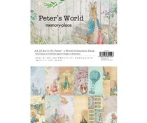 Memory Place Peter's World A4 Paper Pack (MP-60152)