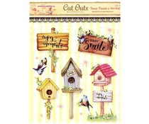 Memory Place Forest Friends 2 Nest Box Cut Outs (MP-58839)