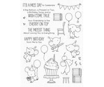 My Favorite Things Mice Day to Celebrate Clear Stamps (BB-120)