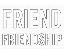 My Favorite Things Friend & Friendship Die-namics (MFT-1928)